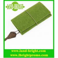 Wholesale promotional felt keychain bag/keychain holder from china suppliers