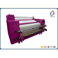 Automatic Roll To Roll Heat Transfer Machine Sublimation Pink Oil CE