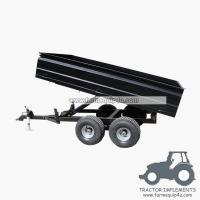 Wholesale 2TR4W - Off road Hydraulic dump trailer with CE 2Ton from china suppliers