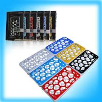 Wholesale 3D Hollow Plating Protection Cover for iPhone4 & 4S black /white/ red/ dark blue from china suppliers