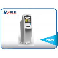 Wholesale 22 Inch Powder Coated Self Service Kiosk Self Check In Kiosk With Keyboard from china suppliers
