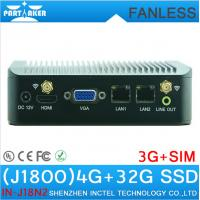 Wholesale Micro PC mini computer Dual core J1800 mini pc Baytrial computer with dual lan 4GB RAM 32G from china suppliers