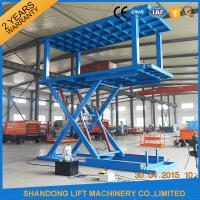 Wholesale Platform Hydraulic Double Deck Car Parking System , Underground Garage Car Parking Lifter from china suppliers