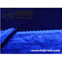 Wholesale Shimmer korea velvet/pleuche/flannelette for apparel fabric with various color from china suppliers