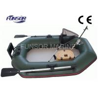 Wholesale Durable 2m Folding Inflatable Boat With Air Mat Floor CE approved from china suppliers