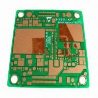 Wholesale Aluminum Base PCB for solar energy device, 1/3oz copper weight, green solder mask from china suppliers