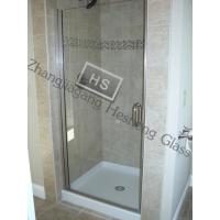 Wholesale 10MM clear tempered glass as shower room door from china suppliers