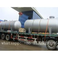 "Wholesale ""CLW"" brand 12m3 bulk surface LPG storage tanker semitrailer for sale, best price 12,000L bulk surface lpg gas tank from china suppliers"