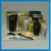 Wholesale Moisture Proof Tea / Coffee Foil Doypack Bags , Self Standing Resealable Pouch from china suppliers