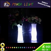 Wholesale Event and Party Decor LED Furniture Waterproof Plastic LED Vase from china suppliers