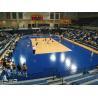 Buy cheap Triangle / Flat Multi-purpose Sport Court Flooring With Basketball / Futsal Anti-UV from wholesalers