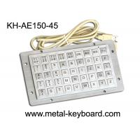 Wholesale IP65 Rated Anti Vandal Industrial Computer Keyboard with 45 Keys Function Keypad from china suppliers
