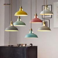 Buy cheap Modern led chandelier lighting for Living room Kitchen Iron Lampshade Lustre de cristal Indoor home Suspendsion Lighting from wholesalers