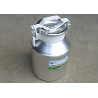 Wholesale 10L Portable Aluminum Milk Can For Transporting Milk With Lid / Cover from china suppliers