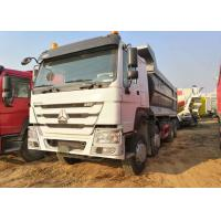 Wholesale 8x4 Driven 40 Ton Heavy Duty Dump Truck Howo 12 Wheel For 30 Cubic Cargo from china suppliers