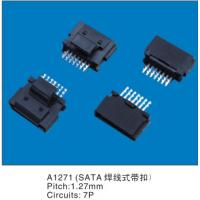 Wholesale 1.27MM Pitch 7 Pins Solder SATA Wire To Board Header To Motherboard from china suppliers