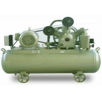 Quality Diesel Belt Driven Piston Air Compressor With Double Gas Nozzle High Grade Aluminium Cylinder for sale