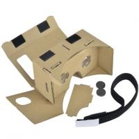 Wholesale 3D VR Virtual Reality Headset 3D Movie Game Glasses Adjust Cardboard VR BOX 2 . 0 from china suppliers