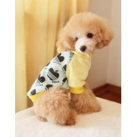 Wholesale High Quality cute white with black Cotton Personalised Dog Hoodies from china suppliers