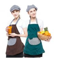 Multi - Color Convenient Fancy Cooking Aprons Popular Style With 2-3 Big Pockets for sale