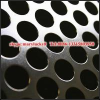 Wholesale 1.5mm aluminum perforated sheet/aluminum alloy perforated metal sheet from china suppliers