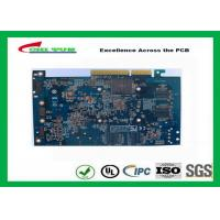 Wholesale Computer Multilayer Circuit Board with OSP + Gold Finger Blue Solder Mask from china suppliers