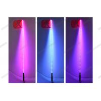 Wholesale Fiber Optic Light Whip With Remote Control , RGB Quick Light Whips With Flag from china suppliers