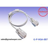 Wholesale 24AWG Video Graphics Array Wire Harness Cable , DB 9 Pin Power Connector Cable UL 2464 from china suppliers