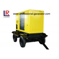 Wholesale 50kVA 40kw Mobile Power Generator , Movable Silent Diesel Electric Trailer Generator with Cummins Engine from china suppliers