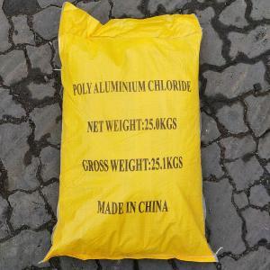 Wholesale Municipal Water Treatment Polyaluminium Chloride PAC Coagulant from china suppliers