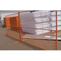 Wholesale Portable Orange Perforated Welded Wire Mesh Fencing 2 Meter Height from china suppliers