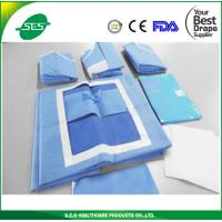 Wholesale High quality sterile cover with water absorber fabric for surgical laparoscopy drape pack from china suppliers
