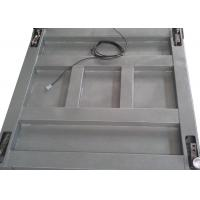 Wholesale Single Deck Industrial Floor Weighing Scales 1.2 X 1.5m 3t Powder Coated With Ramps from china suppliers