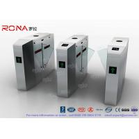 Wholesale Outdoor / Indoor Flap Barrier Gate Entrance Turnstiles Removable HID 13.56mhz RFID Reader from china suppliers