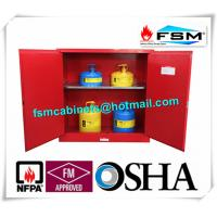 Wholesale 30 Gallon Chemical Storage Lockers , Safety Containers For Flammable Liquids from china suppliers
