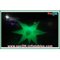 Wholesale 1.5m Diameter Inflatable Led Lighting Decoration Inflatable Star Decoratiom from china suppliers
