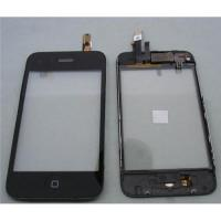 Quality Touch Screen glass Digitizer panel Assembly for iphone 3G 3GS with Mid Frame Home Button for sale