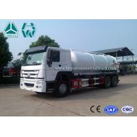 Wholesale 12 Cbm 6X4 Manual Diesel Sewage Pump Truck , Sewage Vacuum Truck from china suppliers