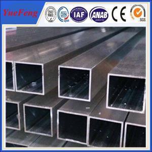 Wholesale Hot! aluminum square hollow tube, aluminum alloy tube profile, aluminium extrusion tube from china suppliers