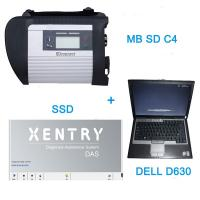 Quality V2016.7 MB SD C4 Star Auto Diagnostic Tools With  256GB SSD Plus DELL D630 Laptop for sale