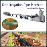 Wholesale Drip Tube Making Machine with round dripper inside/drip irrigation pipe machine price from china suppliers
