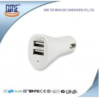 Wholesale Universal USB Power Adapter 5V 2.1A / 2.4A Double USB Car Charger from china suppliers
