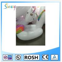 Wholesale Funny Pvc Inflatable Water Park Unicorn Water Toy Pool Float from china suppliers