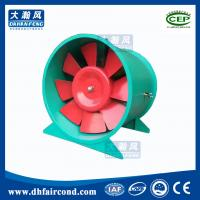 Quality DHF industrial commercial Fire-fighting smoke-exhaust fan with high temp air exhaust ventilation blower fire smoke fan for sale