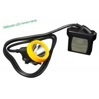 Wholesale Underground LED Mining Headlamp , aluminium mining led lights waterproof from china suppliers