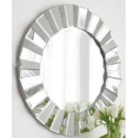 Buy cheap 3D round wall mirror art from wholesalers