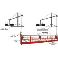 Wholesale ZLP800 8.3 m / min Steel Rope Suspended Platform for Rated Capacity 800 kg for maintenance from china suppliers