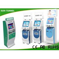 Wholesale 17 Inch Top LCD Monitor Financial Services Kiosk Payment With 2D Barcode Scanner from china suppliers