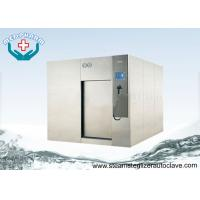 Wholesale High Performance Sliding Door Large Steam Sterilizer With Overpressure Relief Valve from china suppliers
