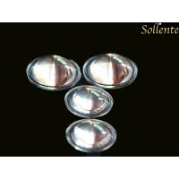 Wholesale High Efficiency Glass Light Lenses Plano Convex , PMMA LED Reflector Lens Dia 29mm from china suppliers